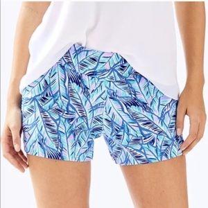 Lilly Pulitzer Let's mango Bennett blue shorts